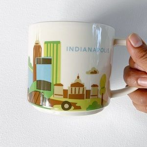 Starbucks YOU ARE HERE Indianapolis Mug
